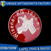 Beautiful Design Epoxy Metal Gold Horse Lapel Pin for Promotion