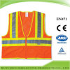 Orange Safety Warning Vest with 3m Reflective Tape (JY-VZ999)