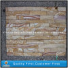 Yellow/Rusty Quartz Culture Stone for Wall Cladding