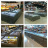 -20° C - 18° C with Sliding Glass Door Seafood Supermarket Island Freezer
