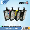 Original One Made in Japan Galaxy UV Ink for Dx5 Head C, M, Y, K W F Included Flush 1L/Bottle Dx5 UV Ink of Galaxy