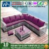 Garden Furniture Outdoor Sofas Set Wicker Furniture Sets with Table 6PCS