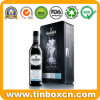 Rectangle Metal Wine Tin Box for Single Malt Scotch Whisky