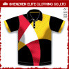 Breathable Sublimation Printed Polo Shirts Polyester Quick Dry (ELTMPJ-315)