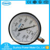 100mm Black Steel Case Vacuum Pressure Gauge with Ce Certificate