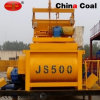 Light Weight Js500 Mini Twin Shaft Concrete Mixer