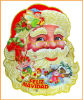 Factory New Santa Stickers for Windows, Christmas Decoration