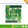 4 Layer High Density MID Tablet Computer Main Board PCB