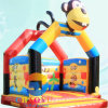 Naughty Monkey Inflatable Bouncy Jumping Castle for Kids