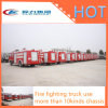 Hot Sale Fire Fighting Truck with Water / Foam Tank