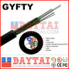 Non-Mentallic Central Strength GYFTY Fiber Optical Aerial Cable