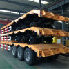 Lufeng 3 Axles 80 Tons Low Bed Semi Trailer for transportation