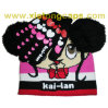 Cute Embroiderey Kid Knitted Hat and Glove (JRK203)