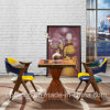 Color Matching Wooden Restaurant Furniture Table and Chair (SP-CT788)