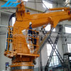 Ship Deck Machinery Cargo Deck Crane, Telescopic and Knuckle Boom Optional