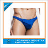 Custom Blue Mens Sexy Thong Underwears