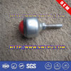 Furniture Accessories Plastic Ball Type Caster Wheel / Industrial Heavy Duty Rubber Wheel with Plate