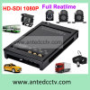 HD-Sdi 1080P 4 Channel SD Mobile DVR for School Bus Monitoring System