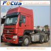 Cheap Cnhtc Prime Mover Tractor Truck for Port Terminal Container Hualing 6X4