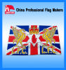 Custom Design and Popular Screen Printing Flags for Outdoor Use