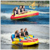 Flit Factory 3 Riders Water Skiing Tubes Inflatable Towable Boat Softshell Technology Pool Lounge