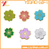 Flowers Hard Enamel Lapel Pins, Zinc Alloy Badge, Metal Pins (YB-LP-430)