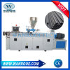 Conical Twin Screw PVC Profile PVC Plastic Pipe Extruder Machine