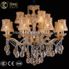 Golden Clip Champagne Crystal Chandelier Light
