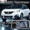 Rear View & 360 Panorama Interface for Peugeot New 3008 5008 etc with Blue-I System Lvds RGB Signal Input Cast Screen