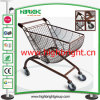 Plastic Sprayed Special Design Hand Shopping Cart Trolley