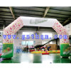 Color Printing Inflatable Arch / Inflatable Advertising Arch