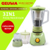 3 in 1 300W 1.6L Capacity Electric Food Processor Blender (KD-313A)