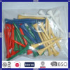 China Made Durable OEM Colorful Wood Golf Tee