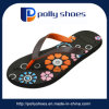 Colorful Flower Plastic Women Slipper Pcu