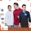 Men′s Restaurant Uniform Long Sleeve Chef Uniform for Restaurant Cafe