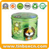 Metal Tin Round Can for Gift Tin Box Packing