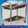 Sell a Large Number of PVC Service Cars for Restaurants, Stainless Steel Dining Car