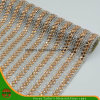 New Design Heat Transfer Adhesive Crystal Resin Rhinestone Mesh (HAYY-1728)