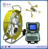 60m Push Rod Cable CCTV Pipe Inspection Camera System