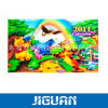 Girls Loved Beautiful Cartoon Round 3D Lenticular Image Fan