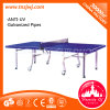 Popular Ping-Pong Table Outdoor Folding Tennis Table with Wheels