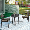 Comfortable Good Quality Outdoor Garden Wicker Rattan Aluminum Furniture Stackable Chair & Table Using Dining Room & Restaurant (YT581)