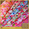 Printing Flower Cloth Fabric Faux PU Artificial Synthetic Leather
