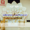 Luxury White PVC Wedding Stage Banquet Hall Backdrop Wedding Backdrop for Sale