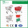 Supermarket Metal Shopping Trolley From 60liters to 275 Liters