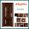 House Gate Design Anti Theft Interior Security Steel Door with Sound Insulation