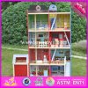 2017 Wholesale Baby Wooden Fire Station, New Design Kids Wooden Fire Station, Top Fashion Children Wooden Fire Station W06A138