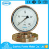 "6"" 160mm Mechanical Diaphragm Pressure Gauge 40 Kpa"