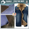 Denim Fabric Bonded Polar Fleece Fabric for Garment