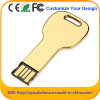Hot Sale Golden Color Mini Key USB Flash Drive (ED094)
